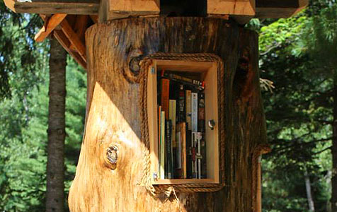 book tree cubbie